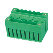 Pluggable terminal block Straight Header Pin spacing 5.00/5.08 mm 2*8-pole Male connector