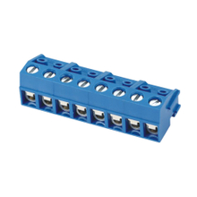 Euro terminal blocks Spring type 1.5mm² Pin spacing 5.00mm 8-pole PCB connector
