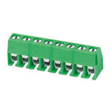 Euro terminal blocks Spring type 1.0mm² Pin spacing 3.96 mm 8-pole PCB connector