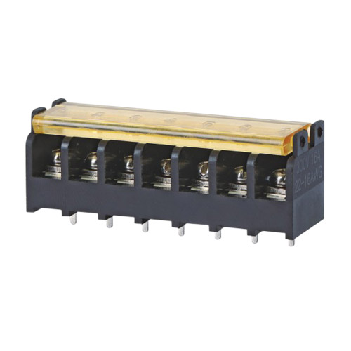 Barrier terminal blocks Screw type 2.5mm² Pin spacing 7.62 mm 7-pole PCB connector