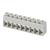 Euro terminal blocks Spring type 0.5-2.5mm² Pin spacing 5.00mm 9-pole PCB connector