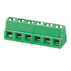 Euro terminal blocks Rising/Lift type 2.5mm² Pin spacing 5.00/5.08 mm 6-pole PCB connector