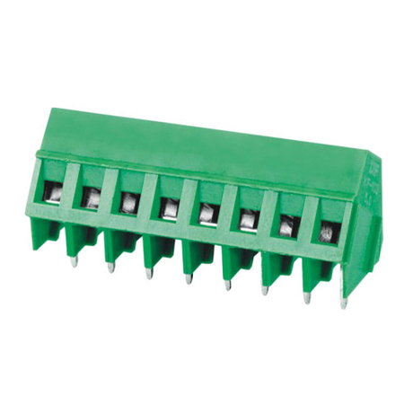 Euro terminal blocks Rising/Lift type 2.5mm² Pin spacing 5.00mm 8-pole PCB connector
