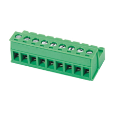 Pluggable terminal block Plug in 2.5mm² Pin spacing 5.08 mm 9-pole Female connector