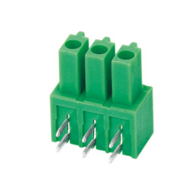 Pluggable terminal block Plug in Pin spacing 3.50/3.81 mm 3-pole Female connector