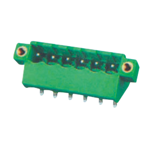 Pluggable terminal block Header Pin spacing 5.0/5.08 mm 6-pole Male connector