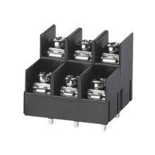 Barrier terminal blocks Screw type 2.5mm² Pin spacing 7.62mm 2*3-pole PCB connector