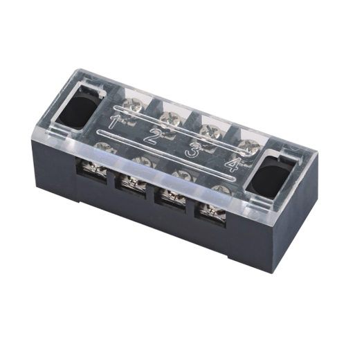 Barrier terminal blocks Screw type 2.5mm² Pin spacing 9.00mm 2*4-pole PCB connector