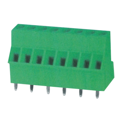 Euro terminal blocks Rising/Lift type 2.5mm² Pin spacing 5.00/5.08mm 8-pole PCB connector