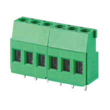 Euro terminal blocks Rising/Lift type 4.0mm² Pin spacing 5.00/5.08mm 6-pole PCB connector