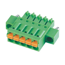Pluggable terminal block Plug in 0.5-1.5mm² Pin spacing 3.50/3.81 mm 5-pole Female connector