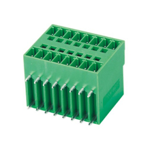 Pluggable terminal block R/A Header Pin spacing 3.50/3.81 mm 2*8-pole Male connector