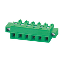 Pluggable terminal block Plug in 0.5-1.5mm² Pin spacing 5.08 mm 6-pole Female connector