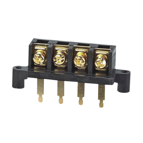 Barrier terminal blocks Screw type 6.0mm² Pin spacing 11.00 mm 4-pole PCB connector