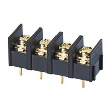 Barrier terminal blocks Screw type 4.0mm² Pin spacing 10.00mm 4-pole PCB connector