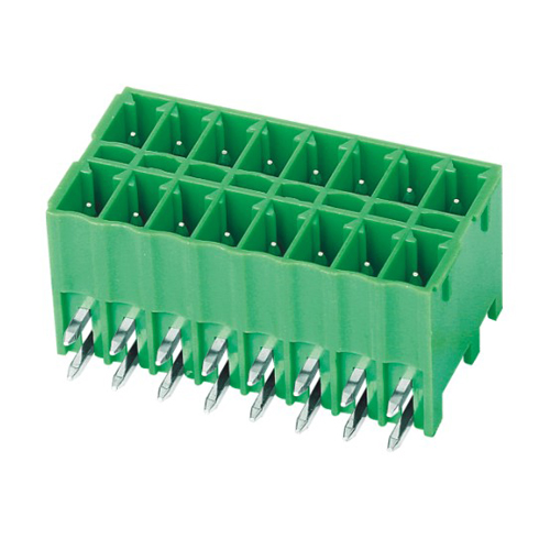 Pluggable terminal block R/A Header Pin spacing 3.50 mm 8-pole Male connector