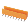 Pluggable terminal block R/A Header Pin spacing 3.96 mm 9-pole Male connector
